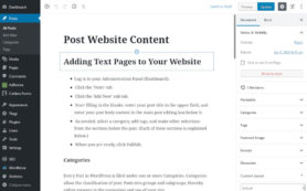 CMS Website Content Editor